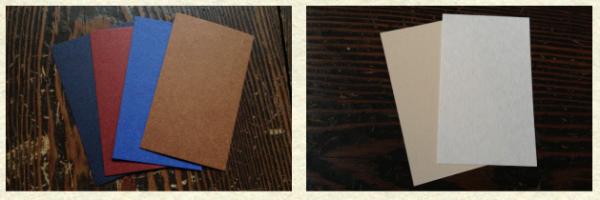 organ活版印刷室 紙