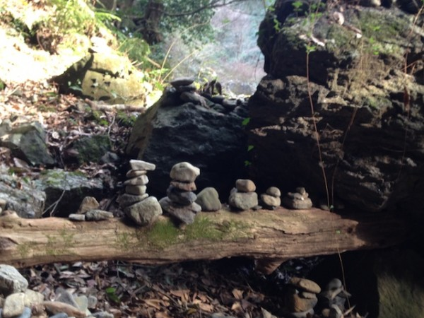高千穂 天安河原の石