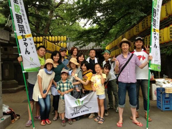 品川で開催のマルシェ「全快野菜ちゃん」