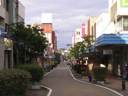 酒田市商店街