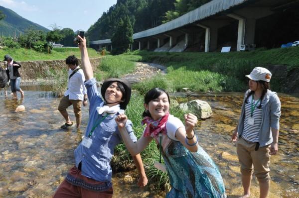 川ガキの棲む川