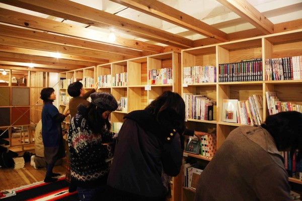 石巻 まちの本棚 ISHINOMAKI 2.0