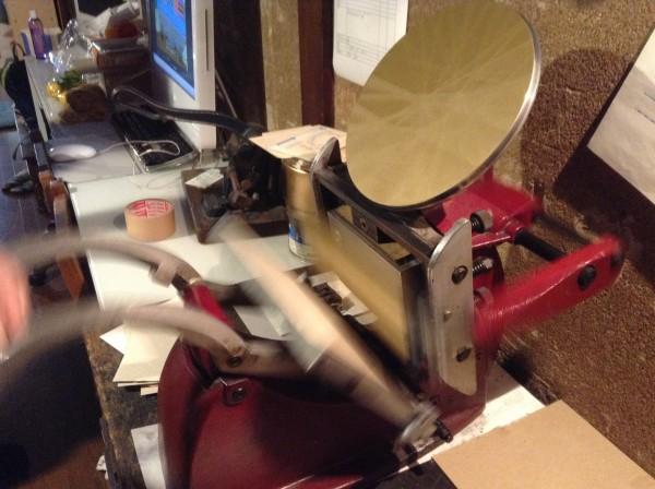 organ活版印刷室 ADANA8×5印刷機