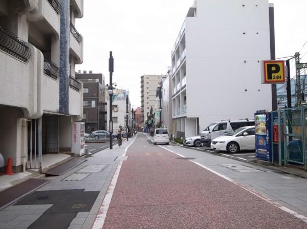 現在の旧東海道