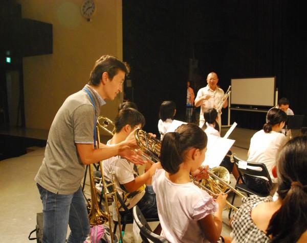 夏休みジャズ・ビッグバンド体験教室(2016年8月)