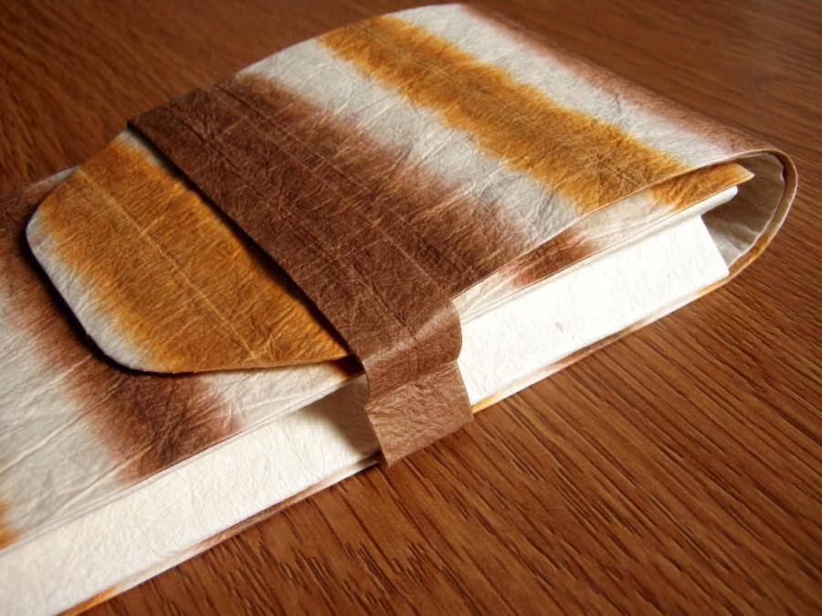 杉原紙で作られたペンケース 和紙
