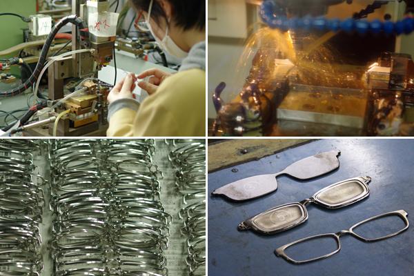 鯖江 めがね 眼鏡 メガネ メタル フレーム 竹内光学工業